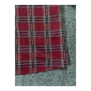 Sweaters - A red and blue plaid pullover sweater